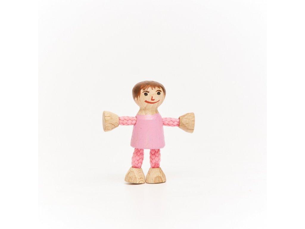 Stavebnice BUKO postavička holčička