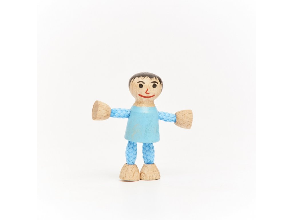 Stavebnice BUKO postavička chlapeček