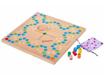 Dřevěná stolní společenská hra UPLAVTE RYBIČKY