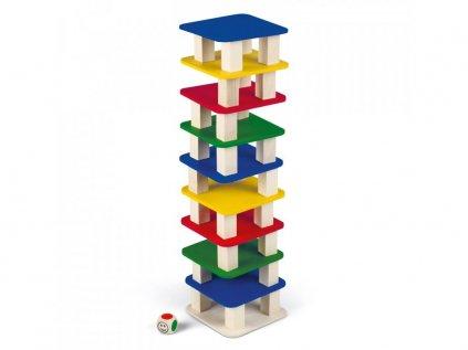 5230 stolny stavebnica veza s kockou pre viacerych hracov