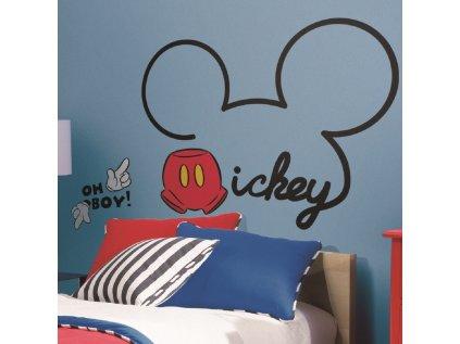 Samolepky na zeď s Disney motivem MICKEY