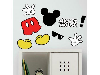 Samolepky na zeď s Disney motivem MICKEY MOUSE
