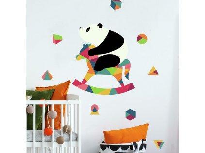 Samolepky na stěnu PANDA