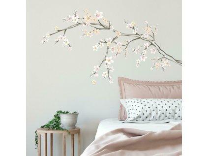 Nálepky na stěnu KVĚTY třešně