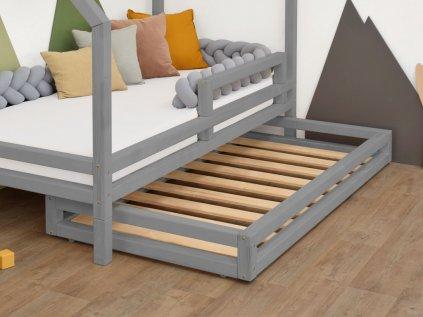 Šuplík 2in1 90x180 cm pod postel 90x200 cm s přídavnými nohami Foots