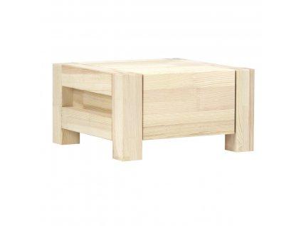 Noční stolek Case přírodní
