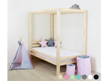 Jednolůžková postel Baldee 90x190 cm