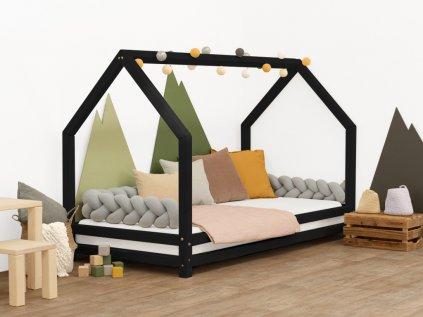 Dětská postel domeček Funny přírodní