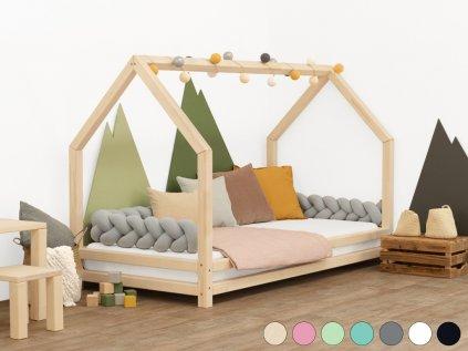 Dětská postel domeček Funny 90x180 cm