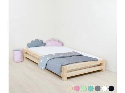 Jednolůžková postel Japa 120x200 cm