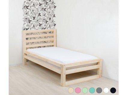 Jednolůžková postel DeLuxe 90x190 cm