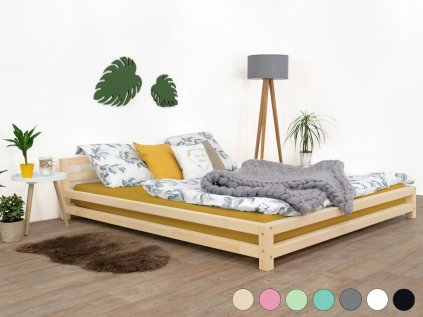 Dvoulůžková postel Modern 160x190 cm