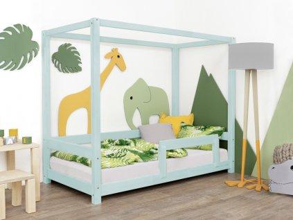 Dětská postel Bunky 120x160 cm s bočnicí