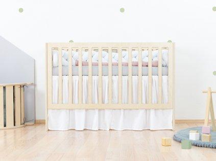 Volánek pod matraci 60 x 120 cm do dětské postýlky