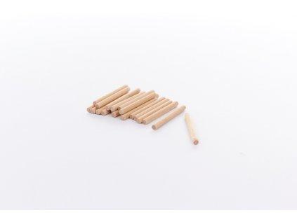 20 ks upevňovacích kolíků o výšce 5,5 cm ke stavebnici BUKO