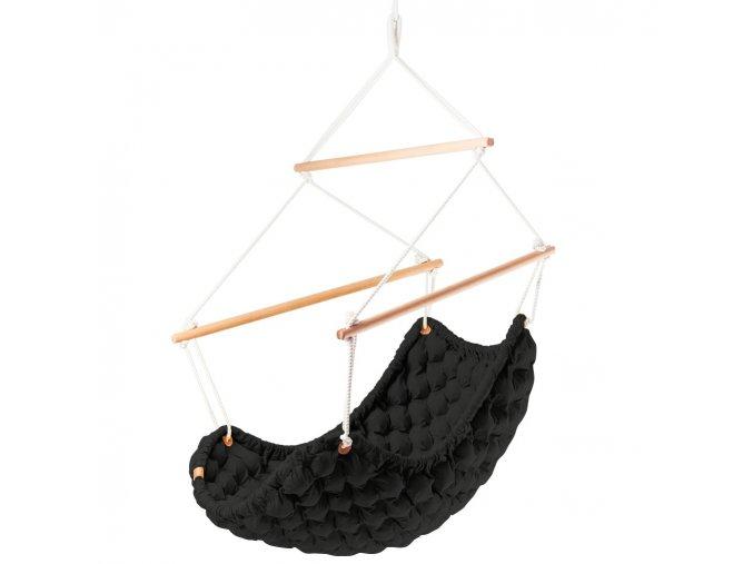 Závěsné Křeslo Swingy In černé