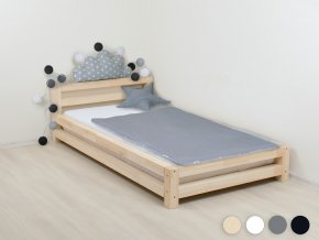 Jednolůžková postel Modern přírodní