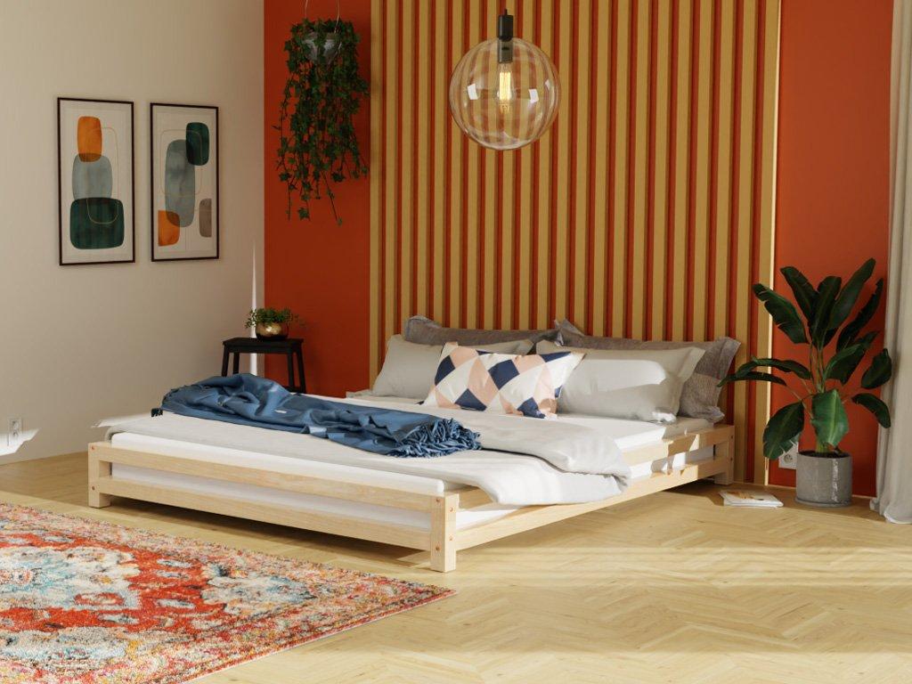 JAPA japán stílusú kétszemélyes ágy