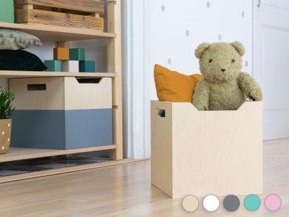 Elegendõ hely játékok és könyvek számára BOKS tároló dobozzal széles kivágással