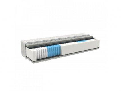 SILVER PROMED rugós matrac memóriahabbal és ezüsttel