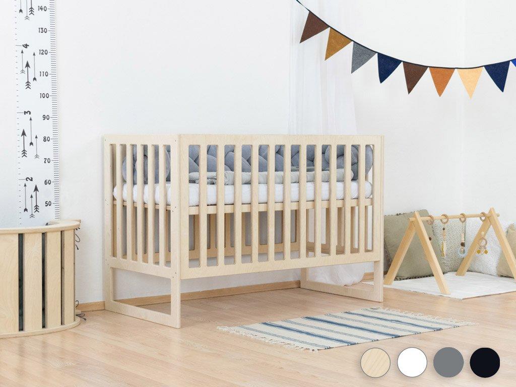 Pătuț pentru bebeluși NAPPY cu înălțimea somierei ajustabile