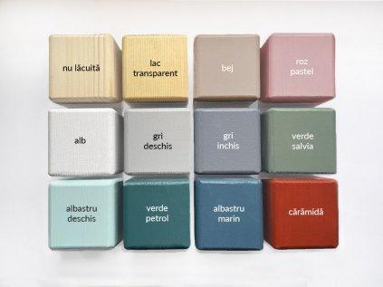 Accesorii suplimentare FOOTS pentru mobilier din lemn Culoare naturala