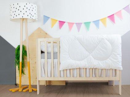 Set: Pernă și pătură pentru bebeluși pentru pătuț