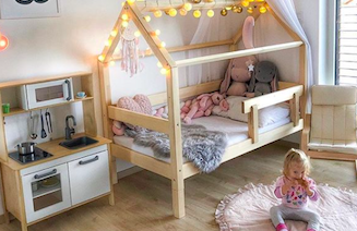 Ako svojmu dieťaťu zariadiť bezpečnú detskú izbu, ktorú si zamiluje?