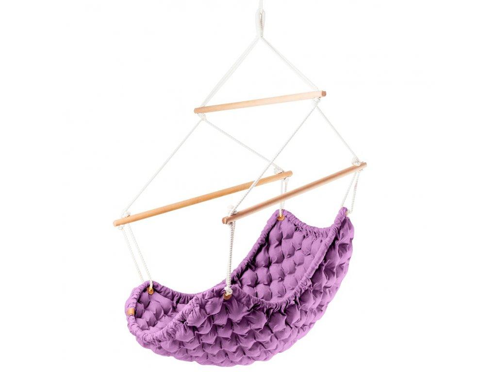 Závěsné Křeslo Swingy In fialové
