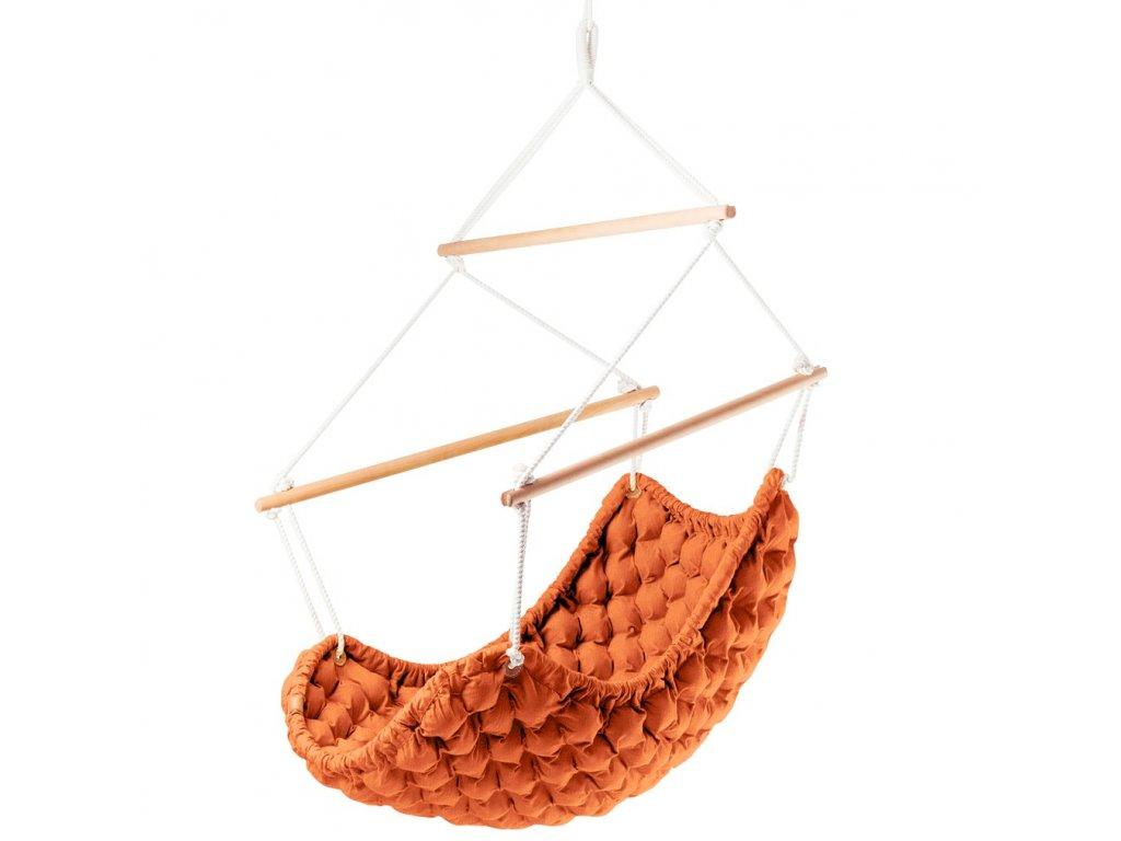 Závěsné Křeslo Swingy In oranžové