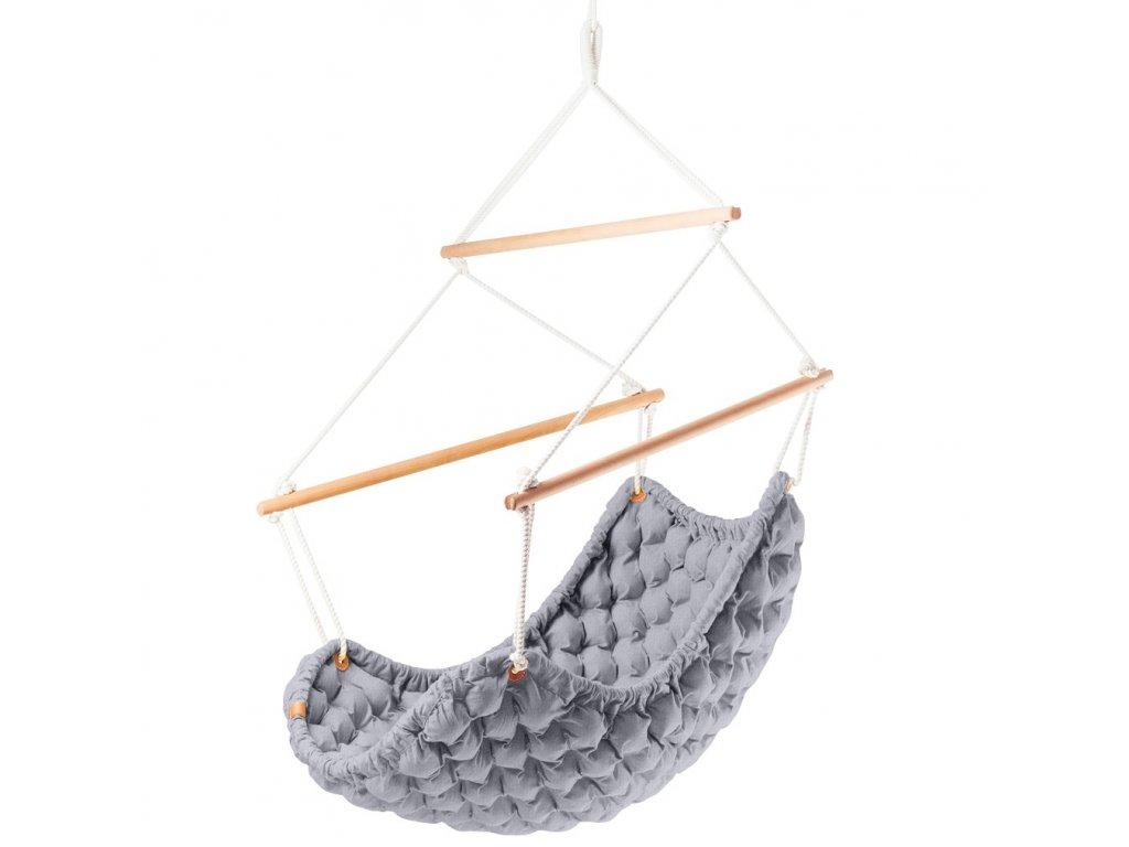 Závěsné Křeslo Swingy In šedé