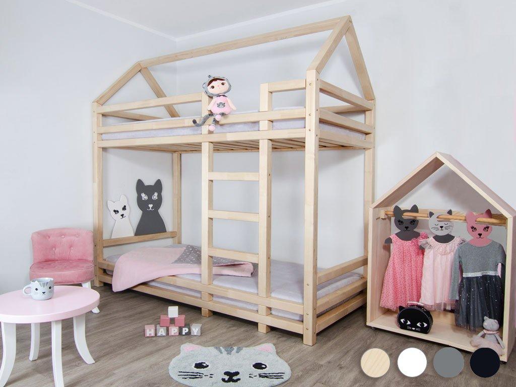 Poschodová posteľ TWINY