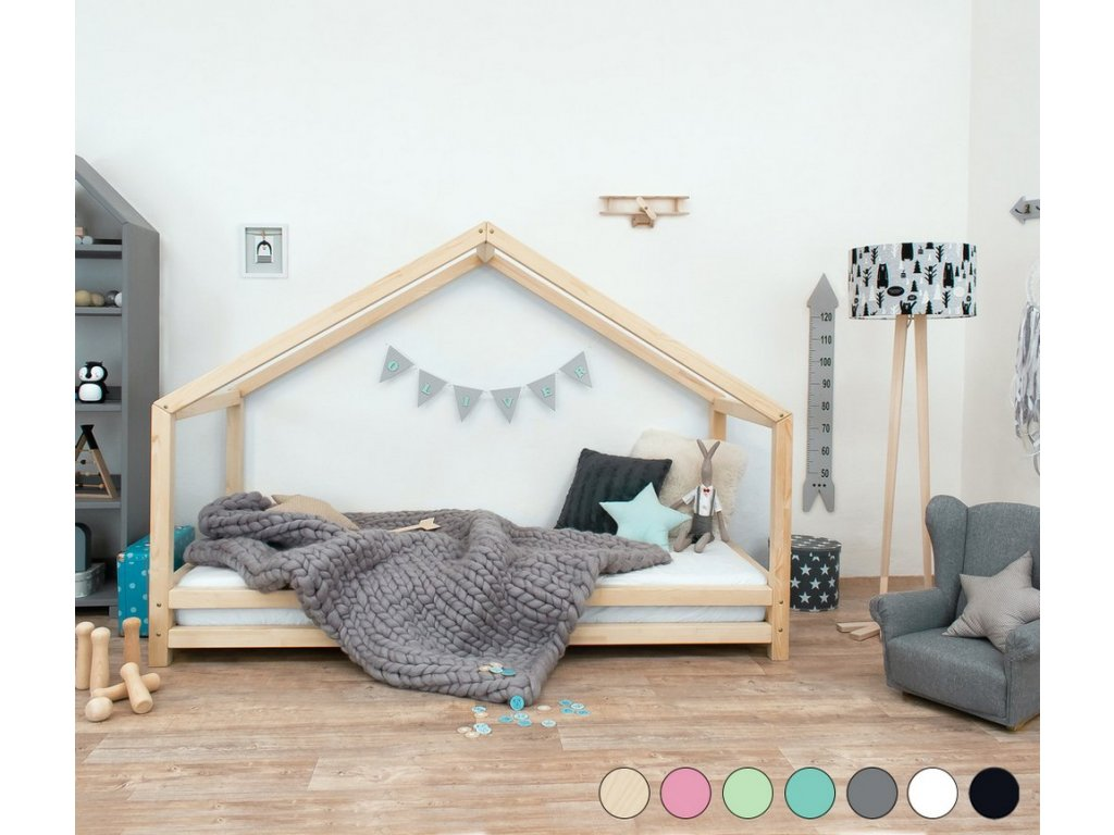 Detská posteľ domček Sidy 120x180 cm