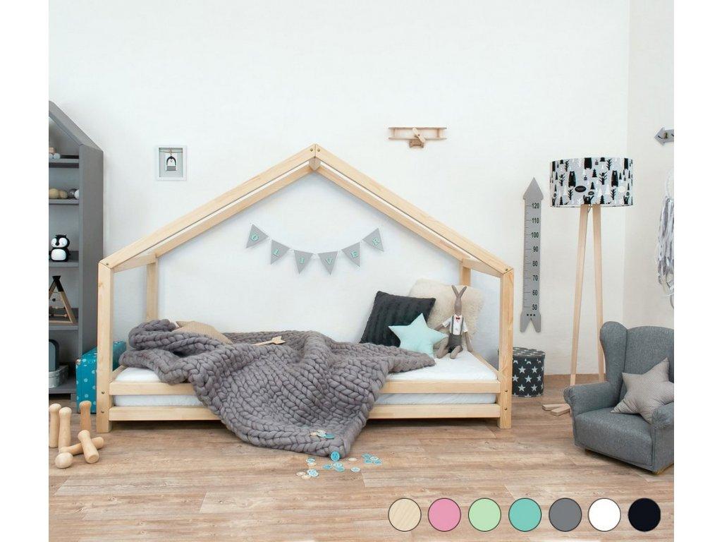 Detská posteľ domček Sidy 90x200 cm