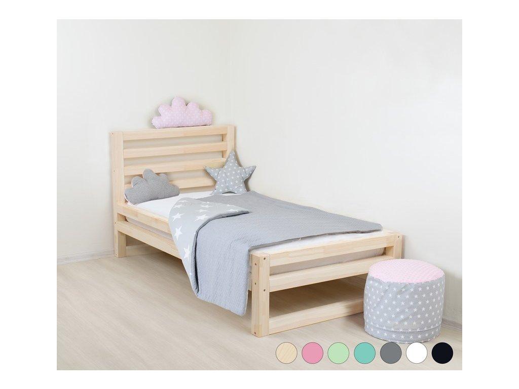 Detská posteľ DeLuxe 90x200 cm