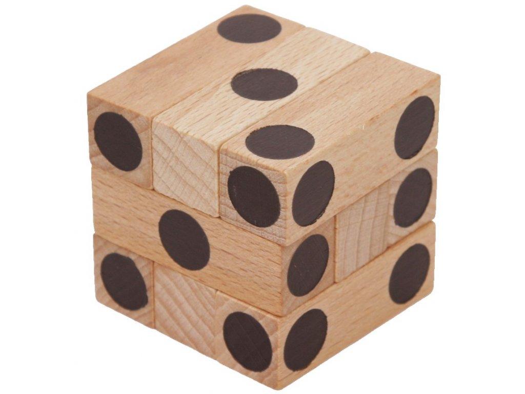 Edukatívny hlavolam kocky CUBE s číslami