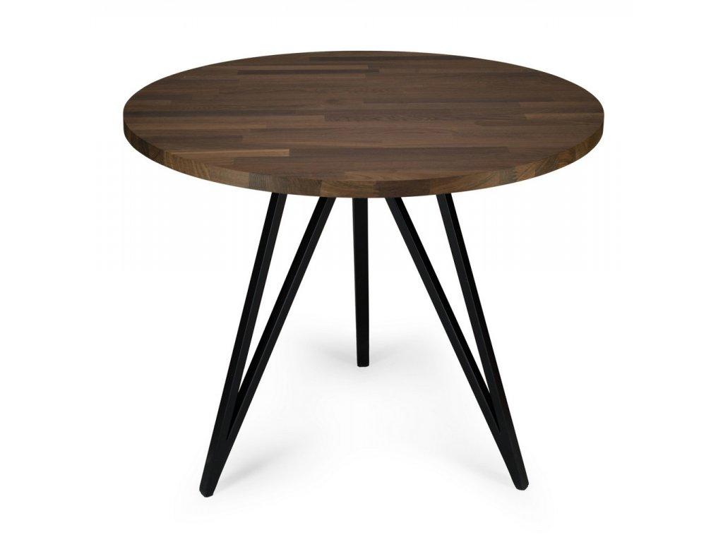 Jedálenský stôl Mine Wood čierny dub