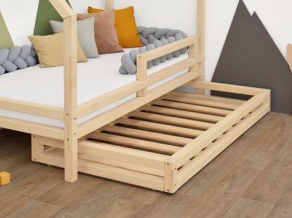 Šuplík 2in1 80x160 cm pod posteľ 80x180 cm s prídavnými nohami Foots