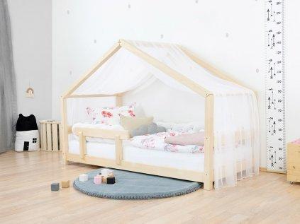 Ľahká šifónová strieška na detskú domčekovú posteľ Lucky