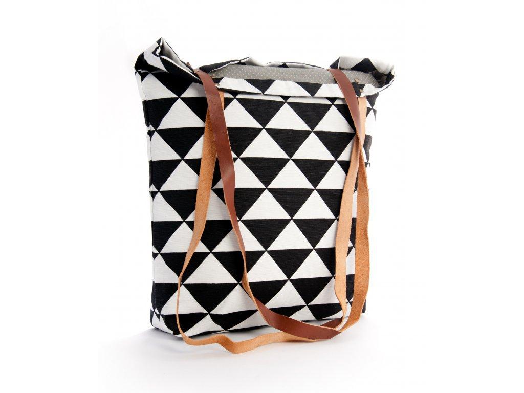 Velká dámská taška trojúhelník, triangl Echino - benmarko.cz