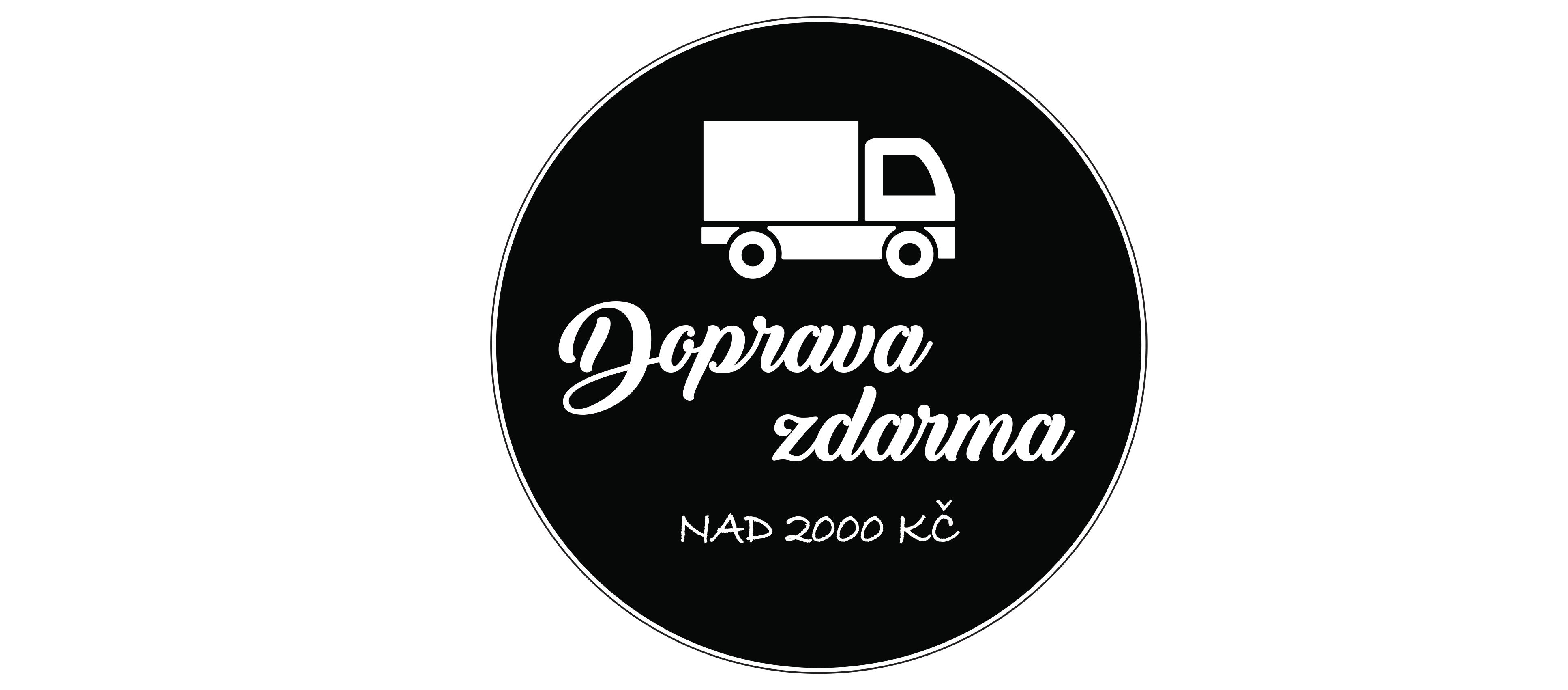 Doprava zdarma nad 2000