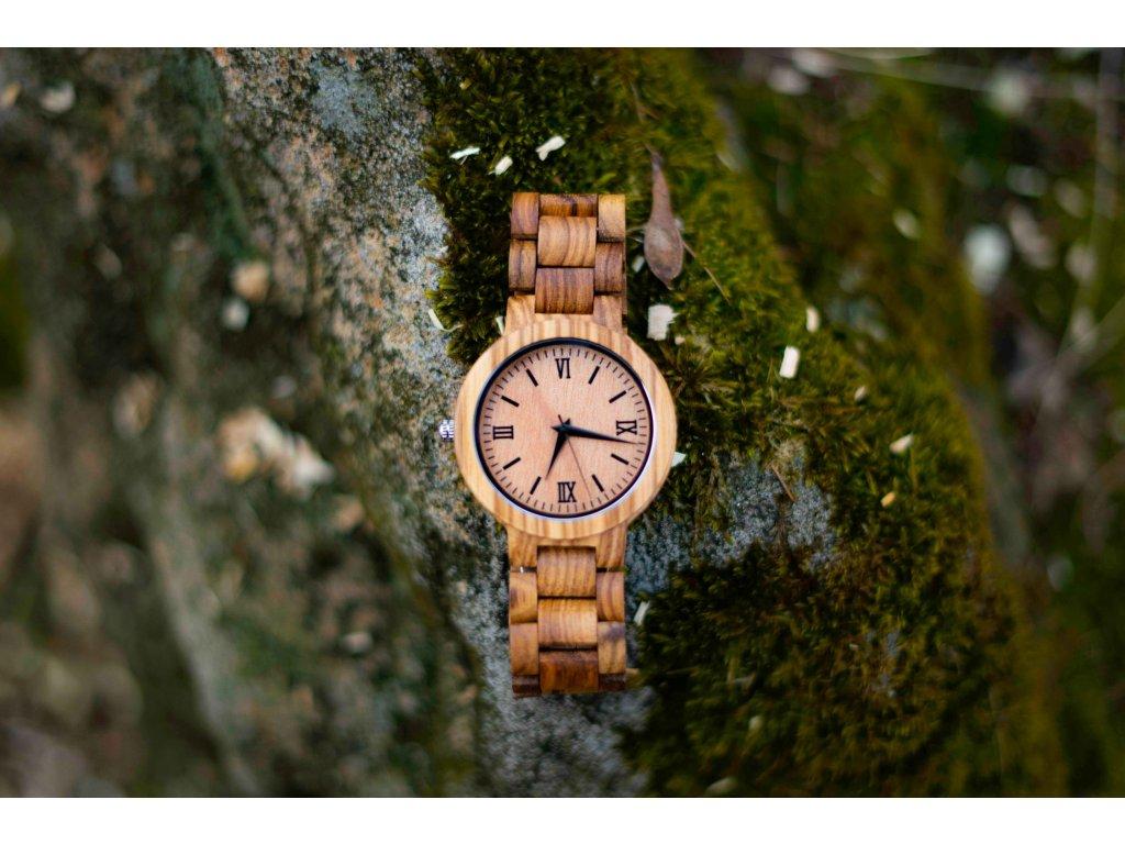 Dřevěné hodinky - Mexico