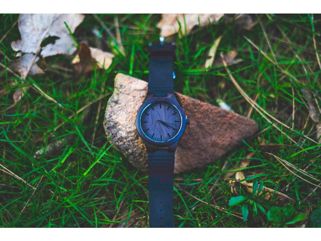 Dřevěné hodinky - Jungle