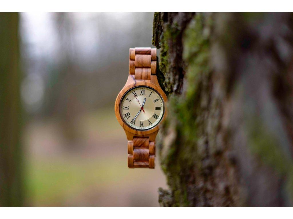 Dřevěné hodinky - Vegas