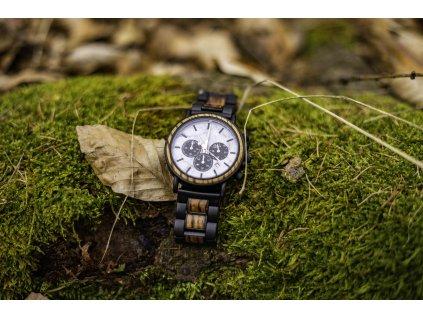 Dřevěné hodinky - California