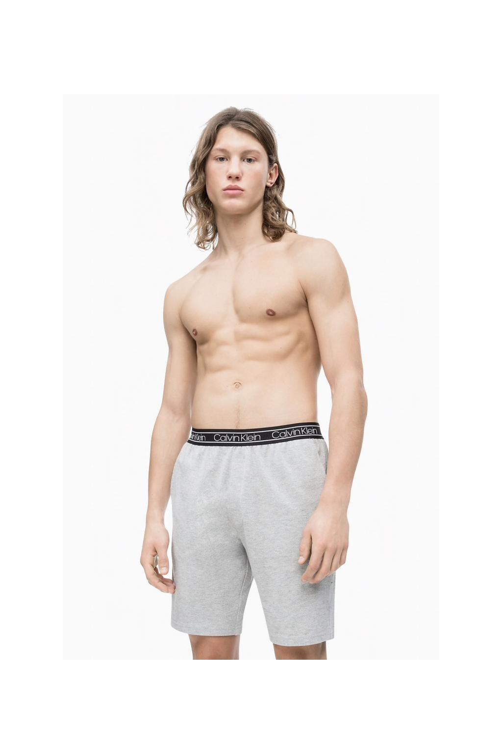 Calvin Klein Modern flx šortky - šedé