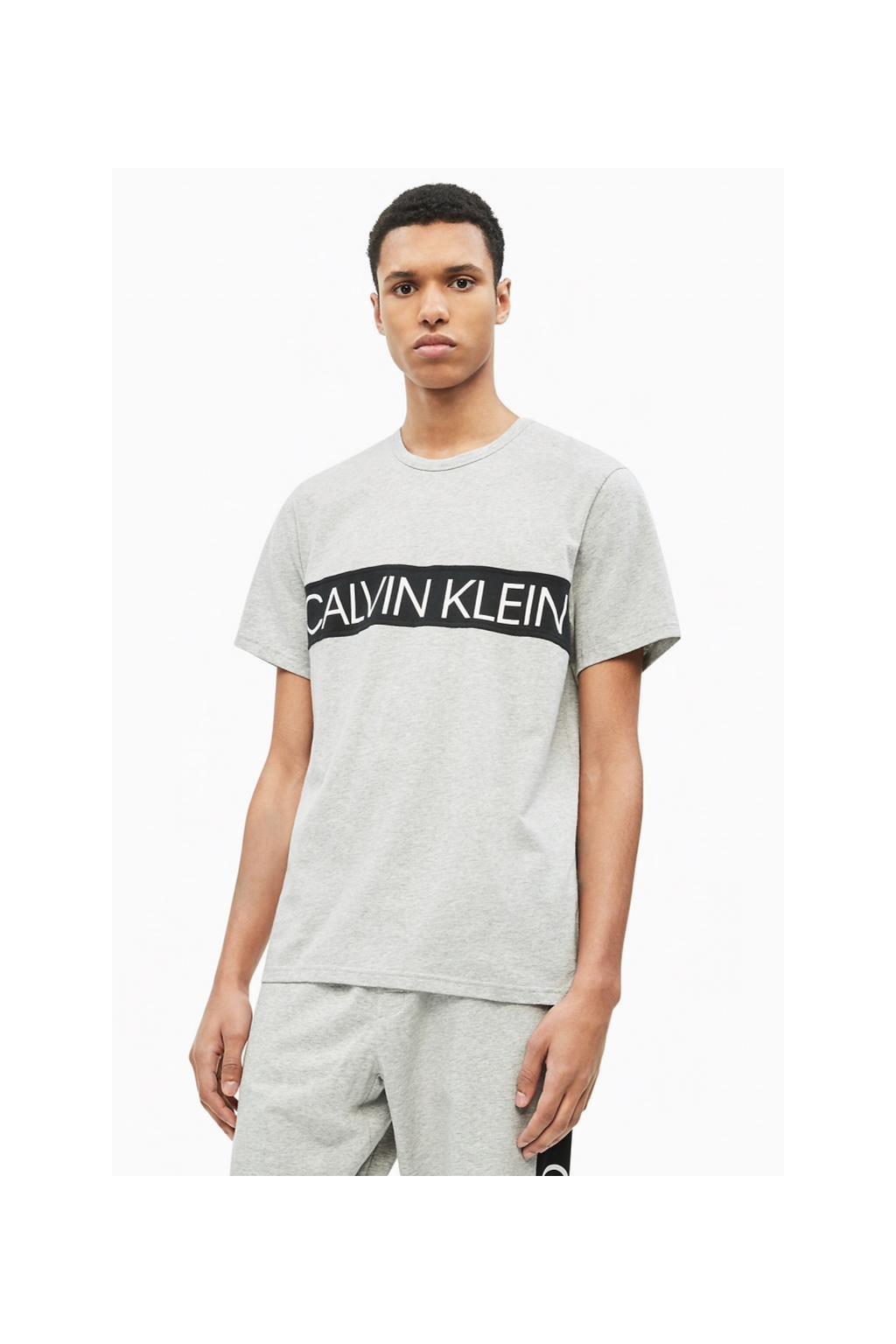 Calvin Klein Statement Tričko - šedé