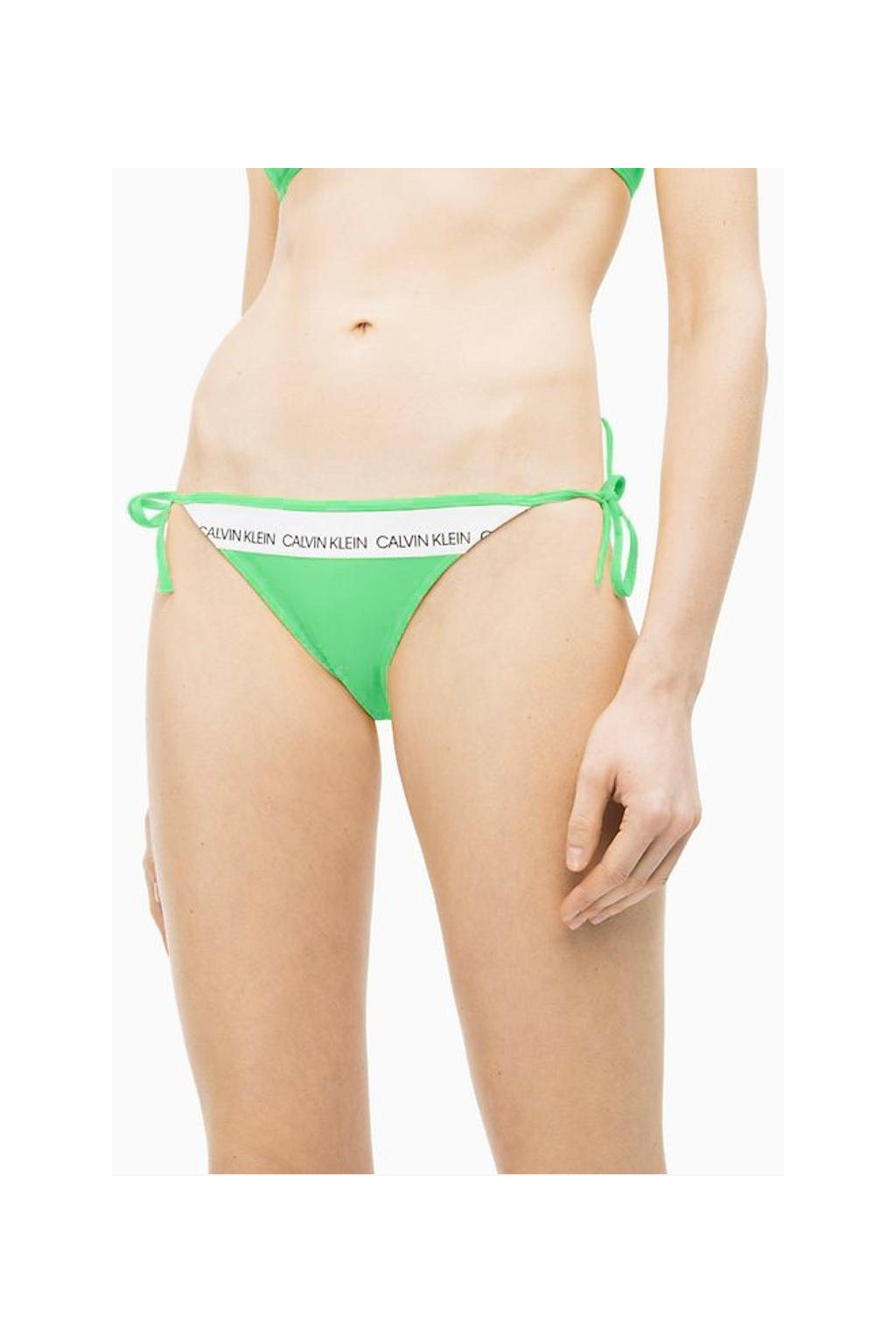 Calvin Klein string cheeky plavky- spring green