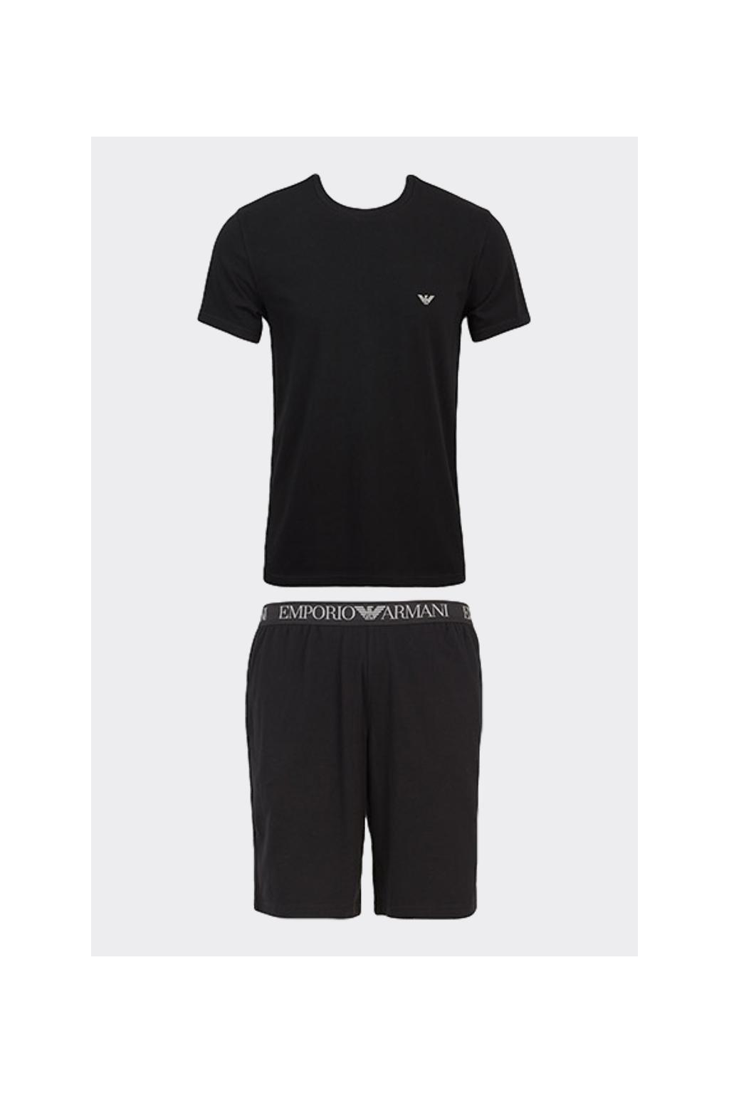 Emporio Armani pyžamový set - černý