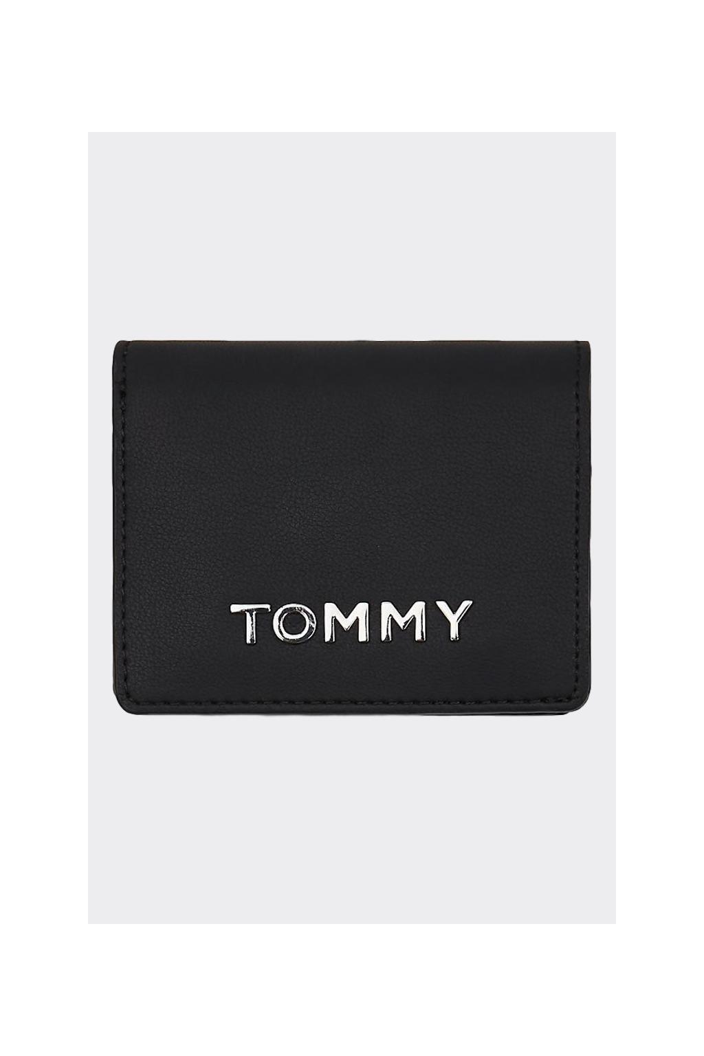 Tommy Hilfiger Medium Metal peněženka- černá
